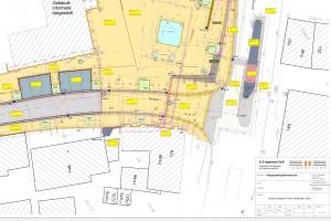 Abrechnungsplan-Straßenbau